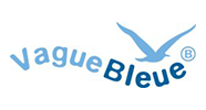Label vague bleue