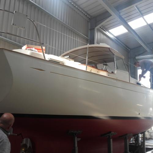 refit coque et pont - deck and hull refit