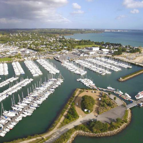 Our shipyard is located in Port -la-Forêt , Finistère 29